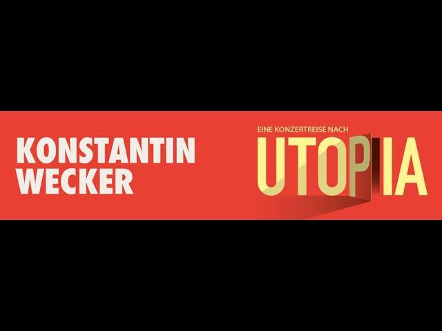 Konstantin Wecker: Trailer Utopia Tournee 2021