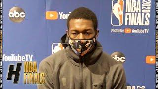 Kendrick Nunn Full Interview - Game 6 Preview   Lakers vs Heat   2020 NBA Finals