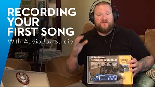 PreSonus LIVE— How to Record Your First Song with the PreSonus AudioBox Studio at Home!