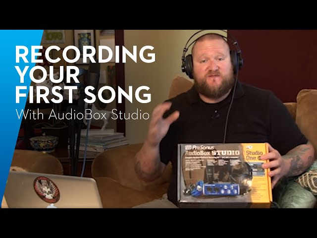PreSonus LIVE—Recording Your First Song with AudioBox Studio