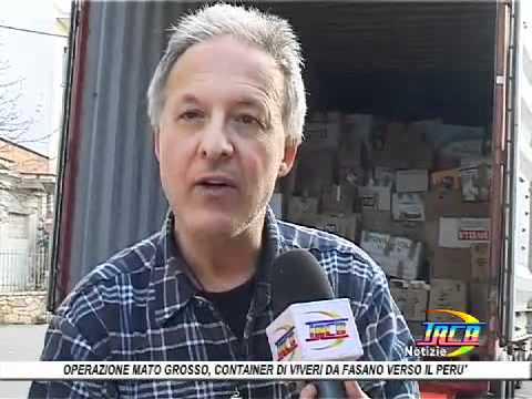 Operazione mato grosso parte da fasano container di viveri per il per trcb youtube - Operazione mato grosso mobili ...