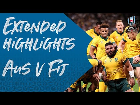 Extended Highlights: Australia 39-21 Fiji - Rugby World Cup 2019