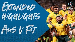 Extended Highlights: Australia v Fiji - Rugby World Cup 2019
