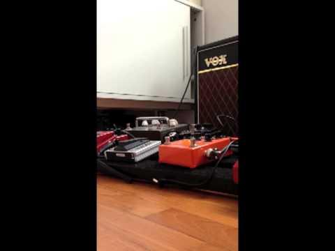 Vox AC15CC1 | Testing Sound on my new Vox AC15CC1
