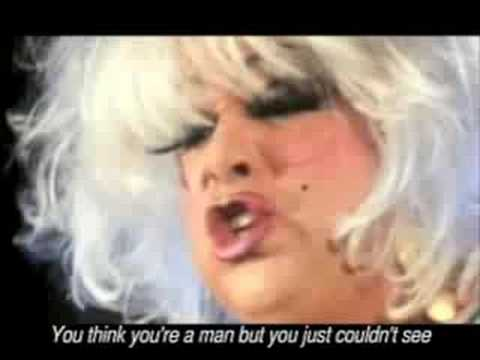 DIVINE  YOU THINK YOU'RE A MAN  Video Edit