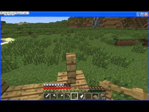 Minecraft comment faire un lit baldaquin fr youtube - Faire un lit minecraft ...
