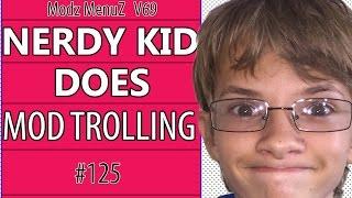"""Black ops 2 Mod Trolling #125 """"Nerdy White Kid Modz"""""""