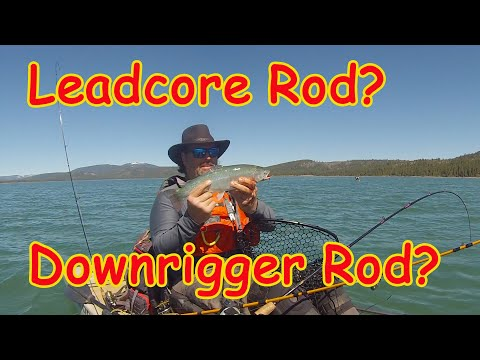 Leadcore Rods Vs  Downrigger Rods For Trout & Salmon!