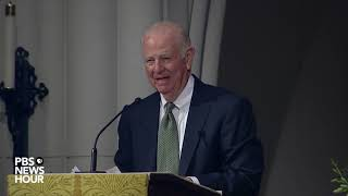 WATCH: In eulogy, James Baker brags about a humble George H.W. Bush