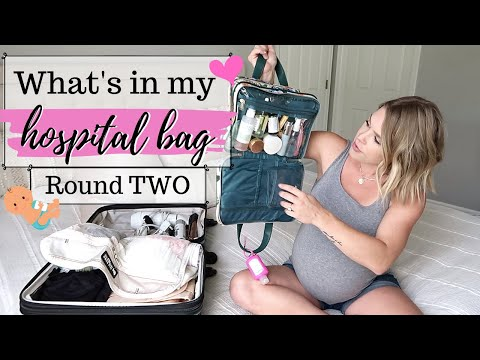 WHAT'S IN MY HOSPITAL BAG | ESSENTIALS | WHAT YOU REALLY NEED