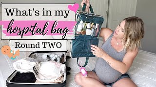 💕WHAT'S IN MY HOSPITAL BAG | ESSENTIALS | WHAT YOU REALLY NEED