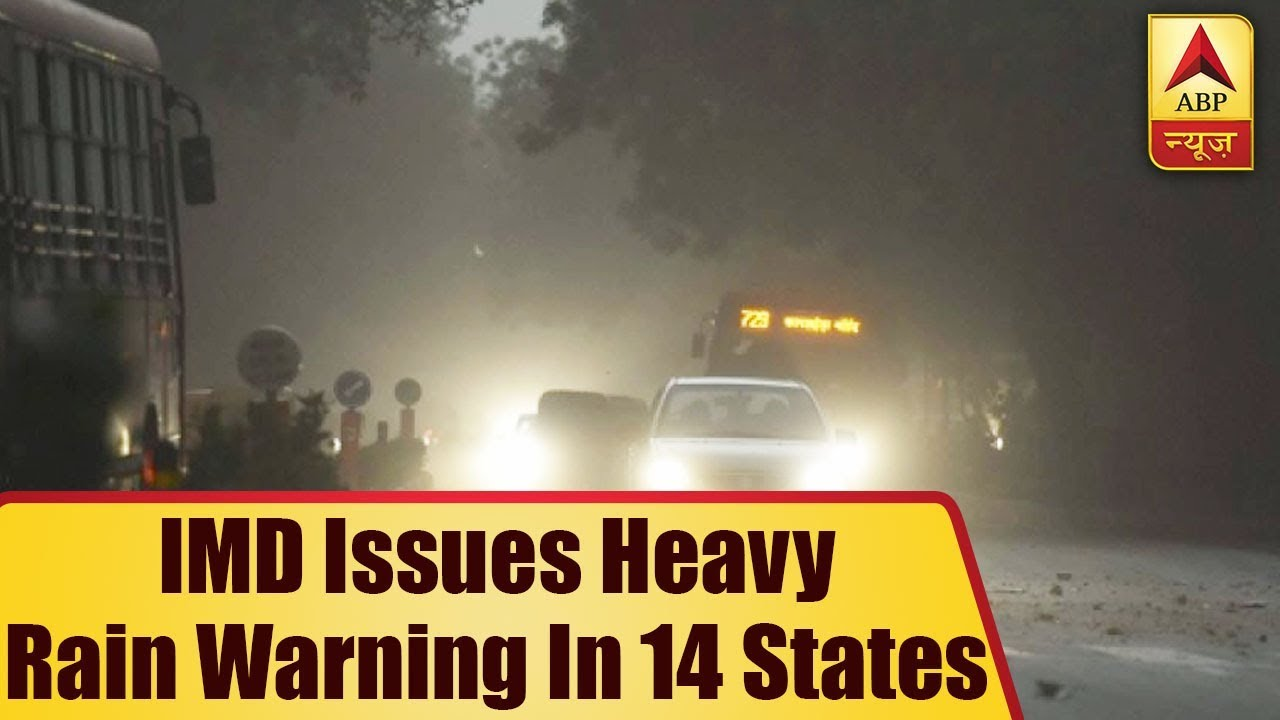 TOP NEWS: IMD Issues Heavy Rain Warning In 14 States   ABP News