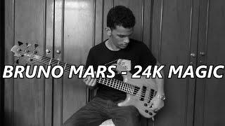 Davi Carvalho / Kenneth Benson / Tom Walsh - Bruno Mars 24k Magic (Bass, Drums, Horns Cover)