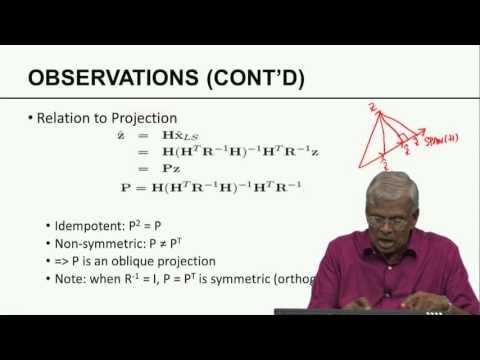 Mod-06 Lec-25 Statistical Least Squares