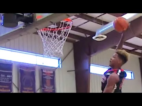 Shaq's Son Shareef O'Neal Crushes Monstrous Alley-Oop