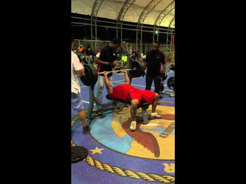 Chad Penson 385lb bench press (no pause) 181
