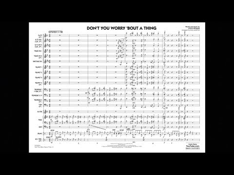 Don't You Worry 'Bout a Thing by Stevie Wonder/arr. Paul Murtha