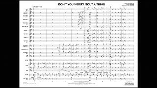Don't You Worry 'Bout a Thing by Stevie Wonder/arr. Paul Murtha Video