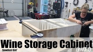 Wine Storage Cabinet (part 1)