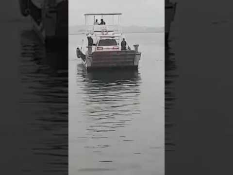 Fiberglass outboard engine landing craft for sale in dubai