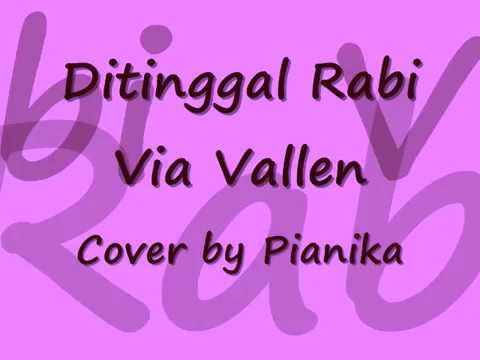 PIANIKA LAGU DITINGGAL RABI VIA VALLEN - Cover By Farhana D