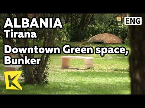 【K】Albania Travel-Tirana[알바니아 여행-티라나]녹색 공간과 역사의 흔적 벙커/Bunker/Green space/Eco/Lana River