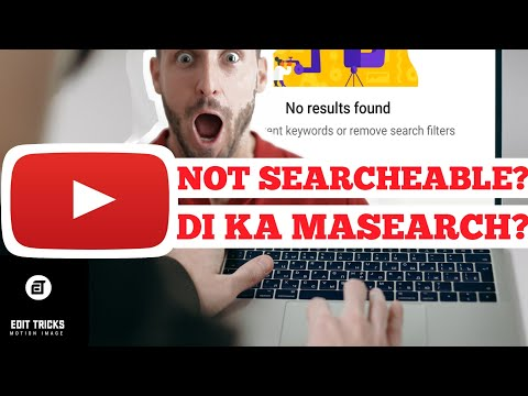 How to make your YouTube channel searcheable | How to fix YouTube channel not showing in search list