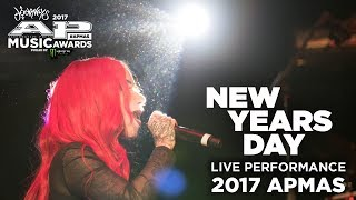 APMAs 2017 Performance NEW YEARS DAY And HALESTORM S LZZY HALE