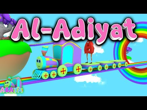 Animation 3D Juz Amma Al Adiyat | Recite Quran with Battar | ABATA Channel