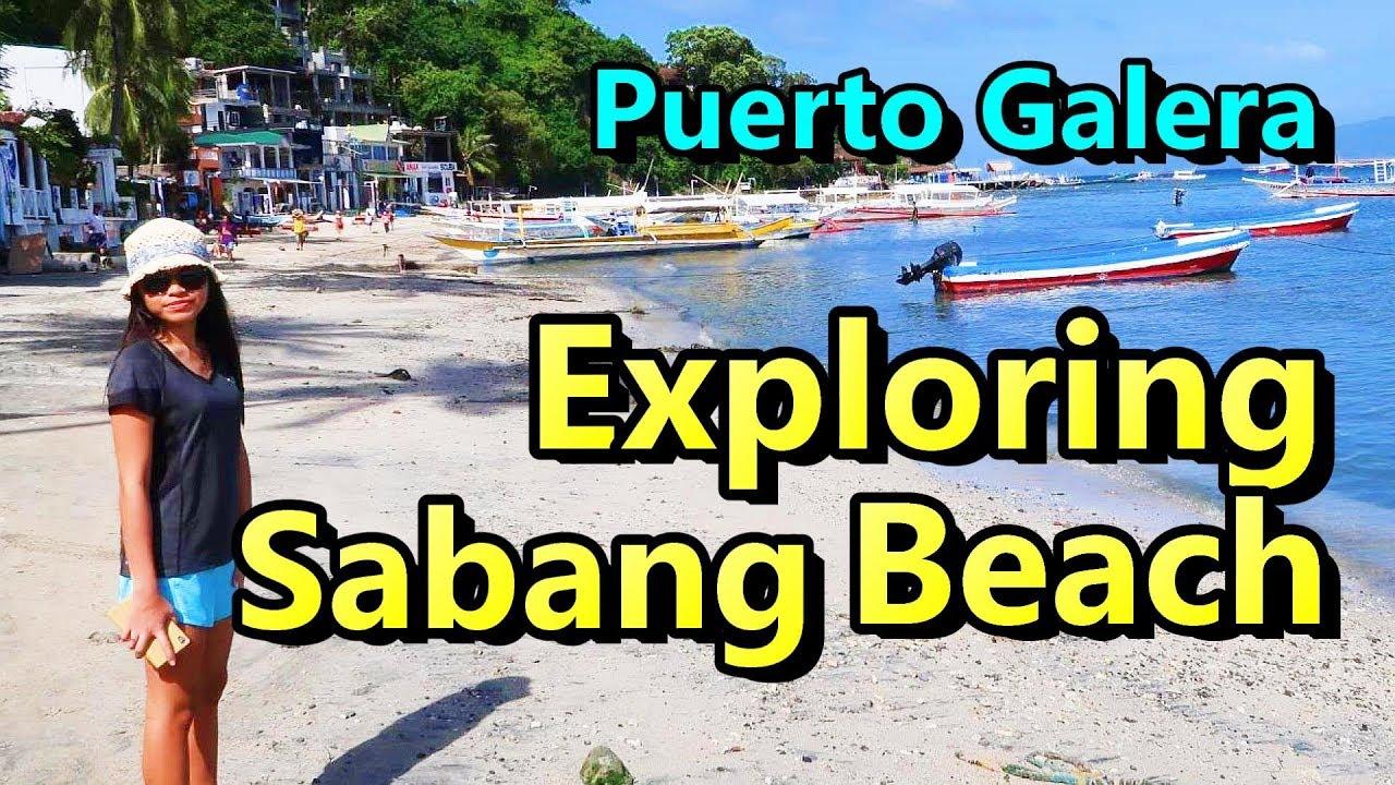 Exploring Philippines Puerto Galera Sabang Beach