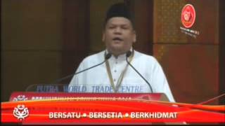 Ucapan Usul Perhimpunan Agung UMNO 2013: Armizan Mohd Ali