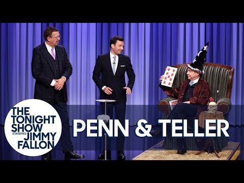 Penn & Teller Show Off A Lying, Cheating, Swindling Card Trick