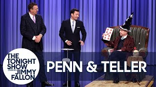 Penn & Teller Show Off a Lying, Cheating, Swindling Card Trick