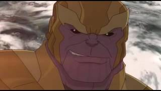 Infinity War Part 1 I Avengers Assemble Animated Series I