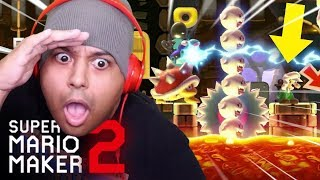 THIS LEVEL KILLED MY BRAINMEATS!! [SUPER MARIO MAKER 2] [#47]