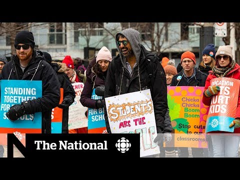 Parents' frustration grows over Ontario teachers' strike