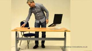 Video Guide: Electric Sit-Stand Adjustable Standing Desk