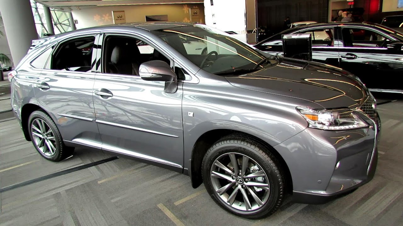 2014 Lexus RX350 F Sport Exterior and Interior Walkaround 2014