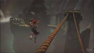 Heavenly Sword PlayStation 3 Gameplay - Rope Bridges