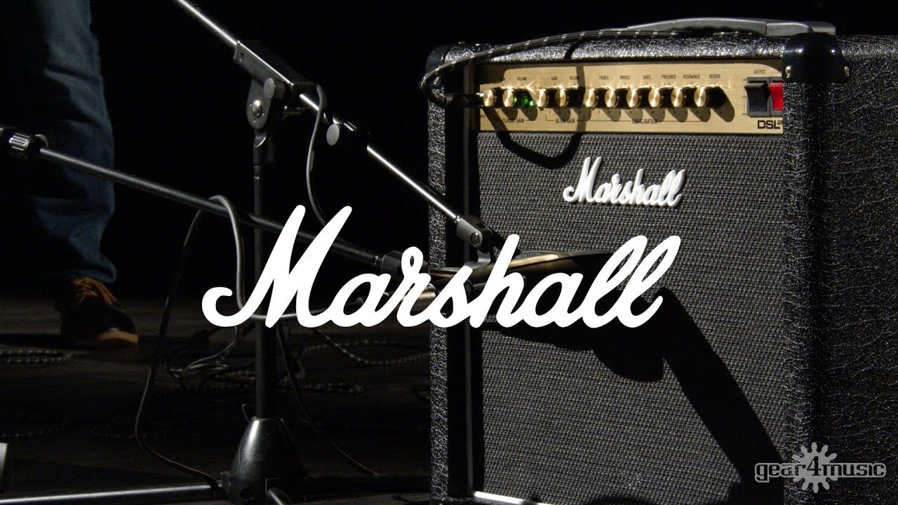 Marshall Dsl20cr 20w 1x12 Valve Combo With Reverb Youtube Power Tube Amplifier El34