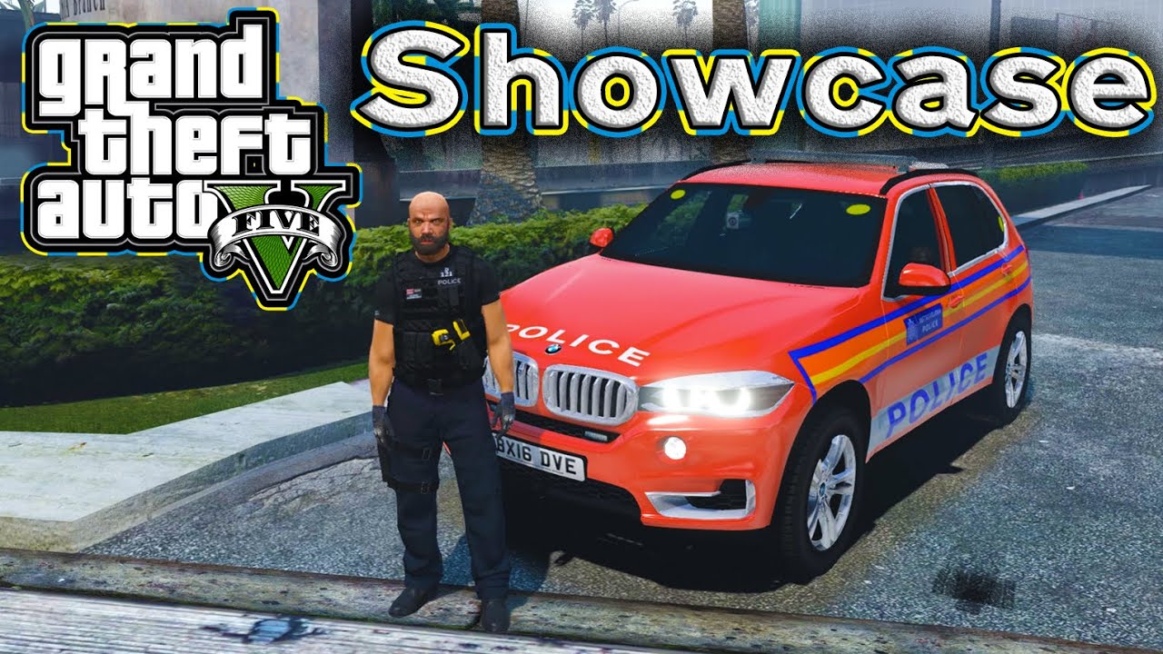 ♦GTA 5 LSPDFR♦ DPG Officer and X5 Skin [UK Police/Showcase]