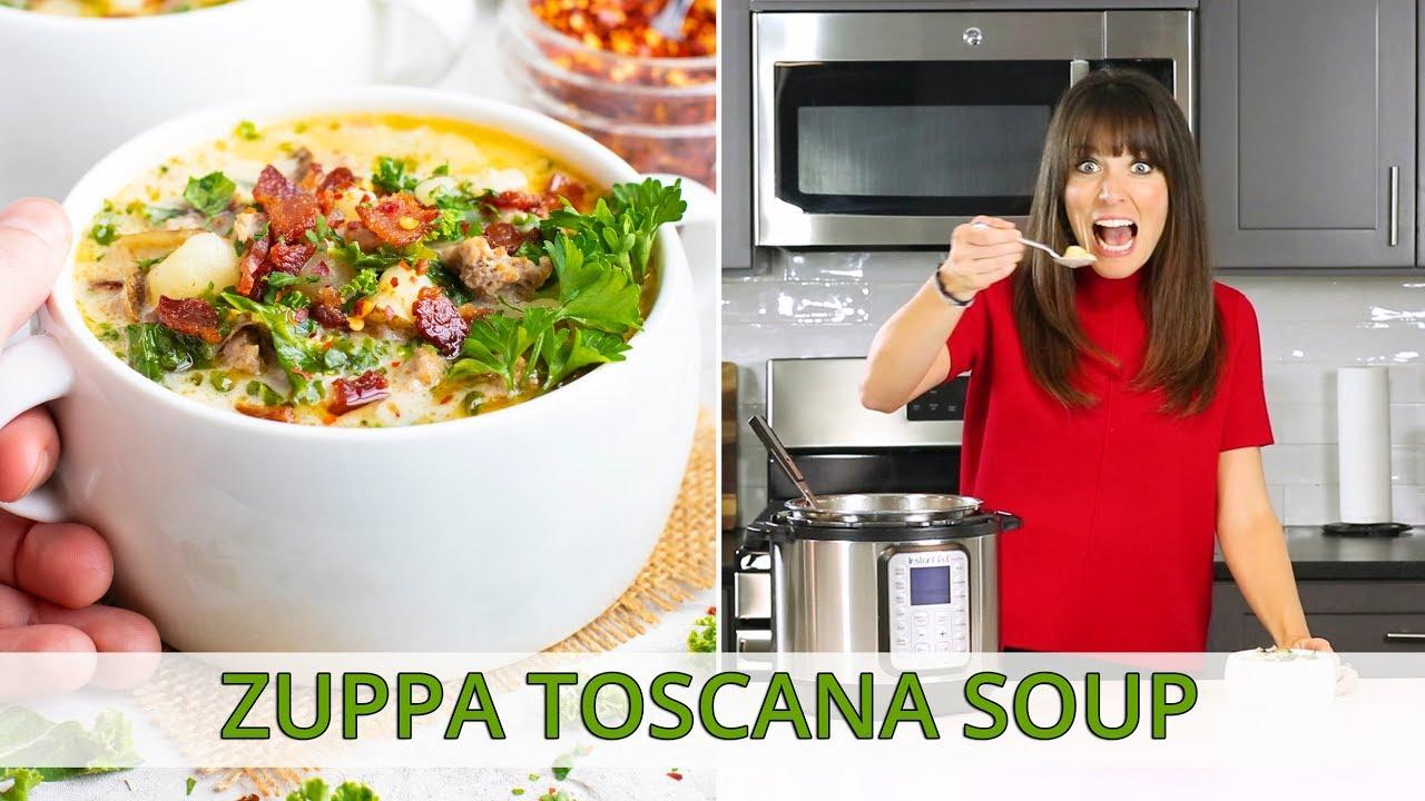 Zuppa Toscana Soup Recipe (Olive Garden Copycat)