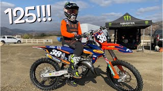 DANGERBOY DEEGAN'S FIRST 125!!! First ride!