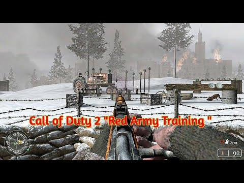 Call Of Duty 2 ''Red Army Training   Little hunter Pro  