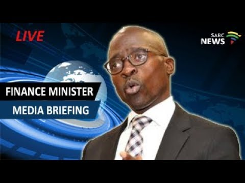 Minister Malusi Gigaba briefs the media following meeting with PIC