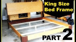 Diy: King Size Bed Frame - Part 2