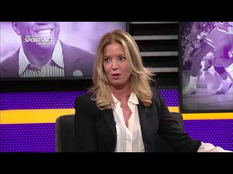 Magic Johnson & Jeanie Buss Full Exclusive Interview (2/21/17)