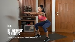 20 Minute HIIT Workout with Adinda Sukardi | Under Armour Home Workouts