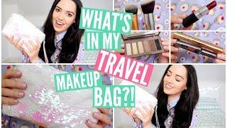 What's In My Travel Makeup Bag?! | velvetgh0st ♡ Thumbnail