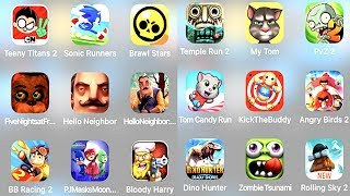 Plants vs Zombies 2, Zombie Tsunami, Kick The Buddy,Temple Run 2  Trollface Quest TV Show All Levels